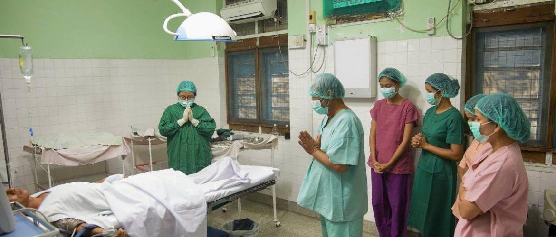 Bidden voor operatie